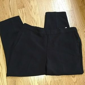 NWT Old Navy pull on cropped pants black 14